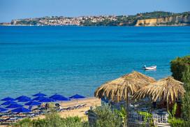 Peroulia beach - Lena Mare apartments - Logga Messinia